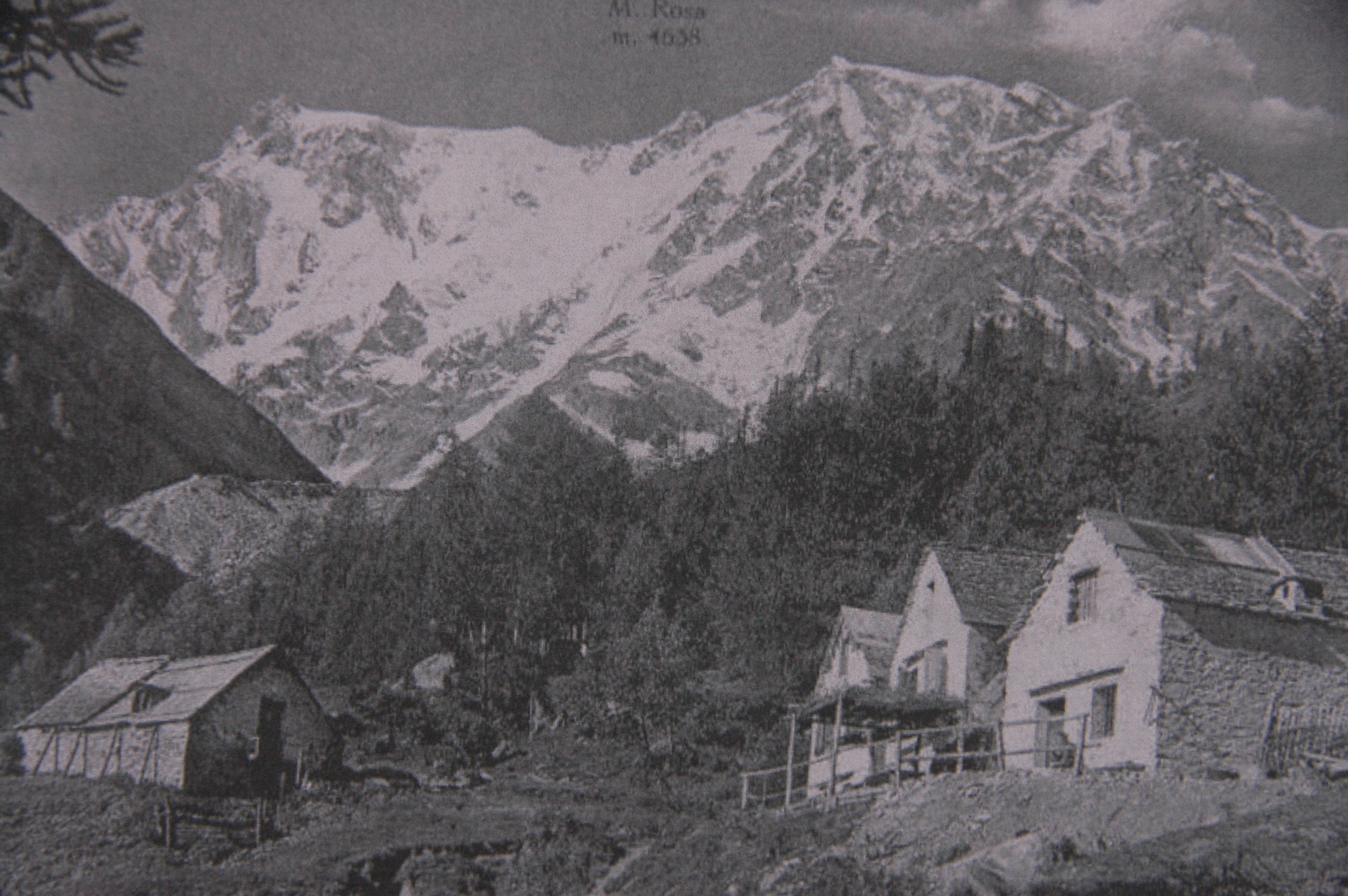 Alpe Burki Macugnaga, 1952
